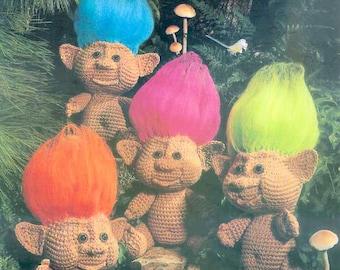 PDF Troll Crochet Pattern Troll Clothes Pattern