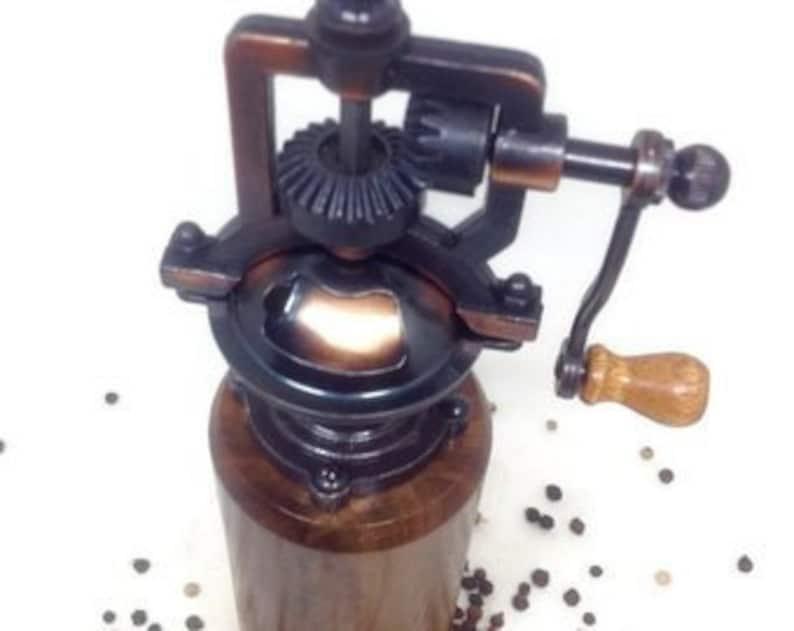 Farmhouse Decor Walnut Pepper Grinder