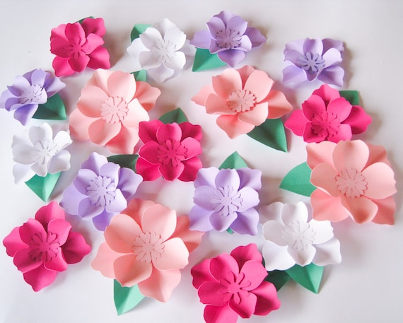 16 paper flowers small paper flowers wedding arch large mightylinksfo