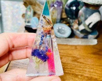 Color changing potion bottle Flower ring holder