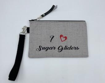 Sugar Glider Pouchette wristlet