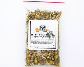 Sugar Glider Enrichment Treat- Organic Dried Chamomile Flowers