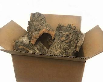 5 lb Bulk Box of Cork Flats Sugar Glider Toy, Sugar Bear, Pocket Pet, Bird toy, small animal, exotic animal