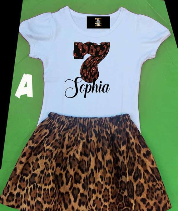 7 Year Old Girls Birthday Outfit Seventh Birthday Seven Year Etsy