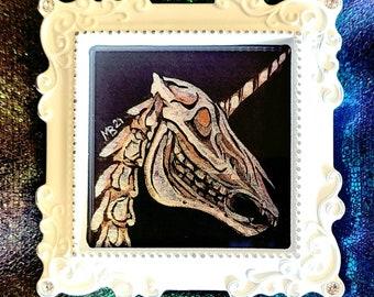 Framed Original - Anatomy Of A Unicorn - 2021