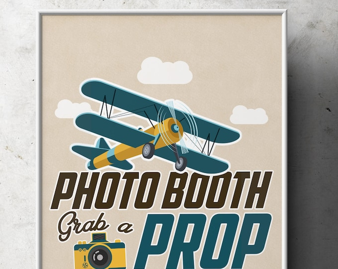 Party signs, Vintage Airplane, birthday,Vintage, Airplane, Birthday Party, first birthday, time flies, precious cargo, travel theme