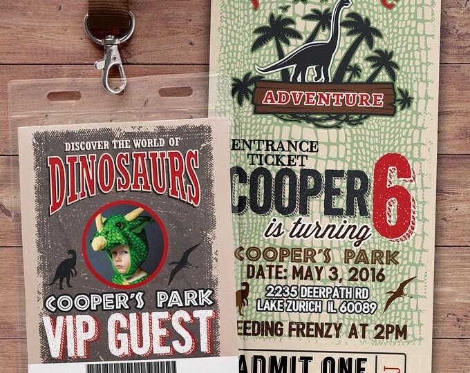 Dinosaur Birthday Party Invitation, Dinosaur Birthday Boy Invitation, Boy Birthday Party, Boy Birthday Party Invitation, Dinosaur Invitation