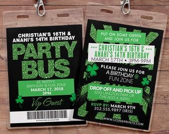 Pub Crawl Invitation Etsy
