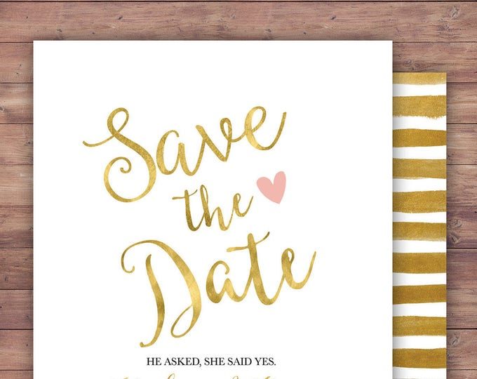 Save the date, BOHO wedding shower Invitation, couples shower, arrows, Tribal, wedding, bridal shower invitation, Happily Ever After