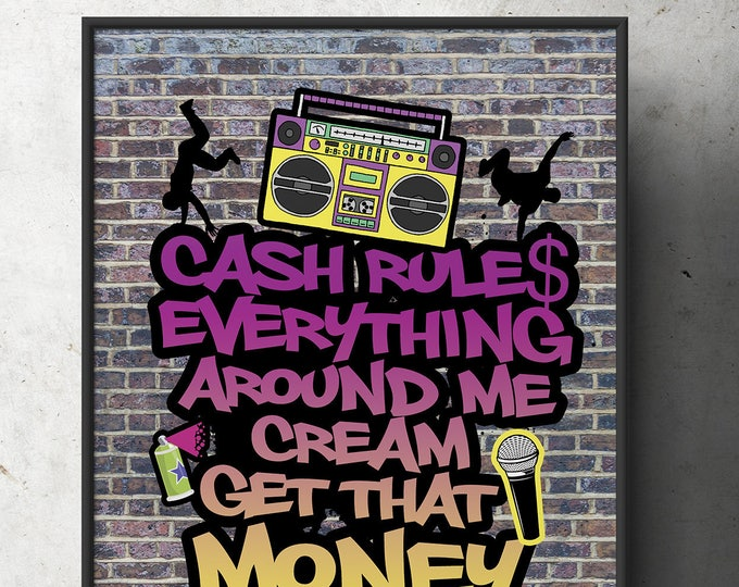 Fresh Prince, 90s party signs, Birthday, Baby Shower, Hip Hop,, 90s, party decor, Graffiti, birthday,90s party, printable files