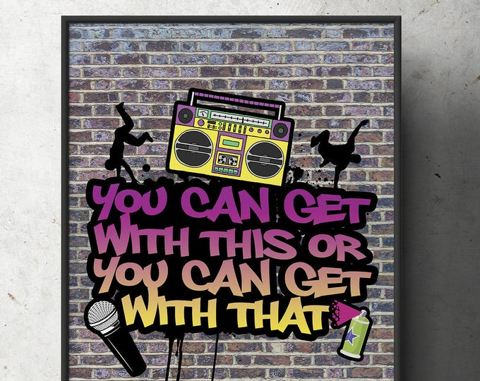 Fresh Prince, 90s party signs, Birthday, Baby Shower, Hip Hop, shower game, 90s, party decor, Graffiti, birthday, DJ, 90s party
