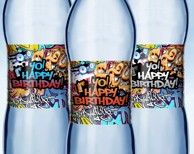 Fresh Prince, Birthday, Baby Shower, Hip Hop, Swagger, 90s, Graffiti, birthday, DJ, 90s party, HipHop party decor