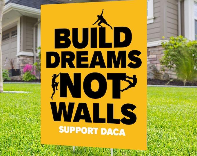 DACA yard sign design, Digital file only, No Hate sign,, Dreamers sign, Kindness sign, Black lives matter, Poster, Equality, political sign