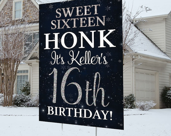 Happy birthday lawn Sign design, Digital file only, Honk outdoor sign, Quarantine Birthday , Birthday Yard Sign, Happy Birthday Sign,