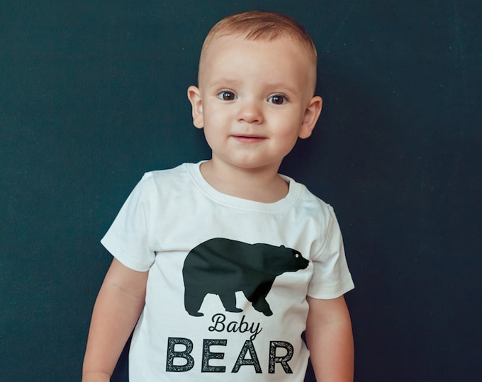 Digital files only • Birthday T-shirt, little bear, lumberjack, birthday shirt, first birthday shirt, family shirts, lumberjack bash, 1st
