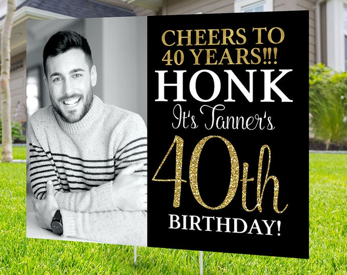 Happy birthday Yard Sign, Digital file only, Honk outdoor sign, Quarantine Birthday , Birthday Yard Sign, Happy Birthday Sign, Yard sign
