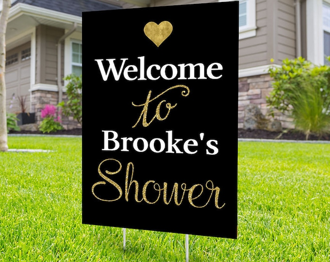 Bridal Shower welcome Sign, Digital file only, Lawn sign, Quarantine party , Anniversary Yard Sign, Wedding Anniversary