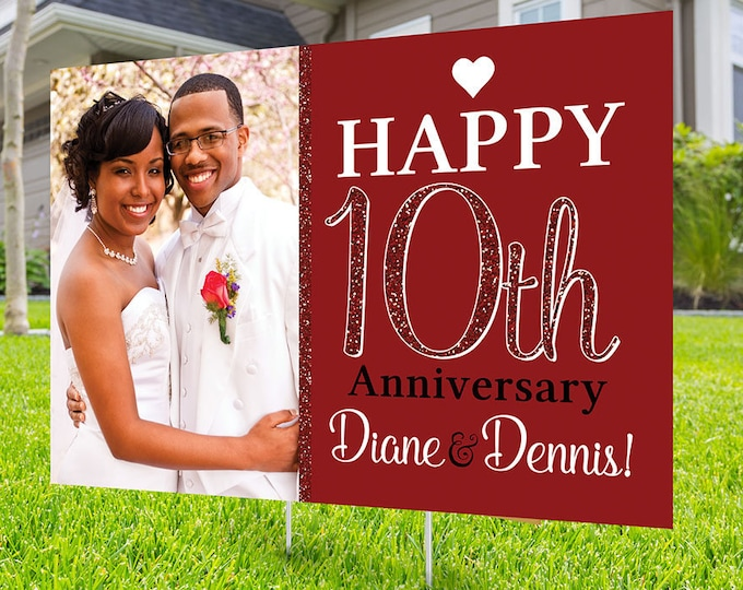 Anniversary Yard Sign, Digital file only, Honk outdoor sign, Quarantine party , Anniversary Yard Sign, Wedding Anniversary
