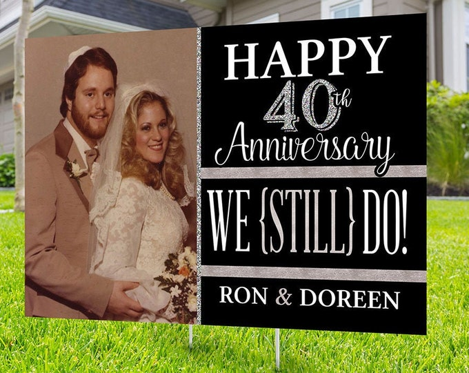 Anniversary Yard Sign design, Digital file only, Honk outdoor sign, Quarantine party , Anniversary Yard Sign, Wedding Anniversary