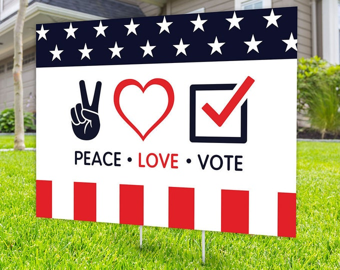 Political Campaign Yard Sign design, Digital file only, rally sign, democrat, political sign, 2020 president, political lawn sign, Biden