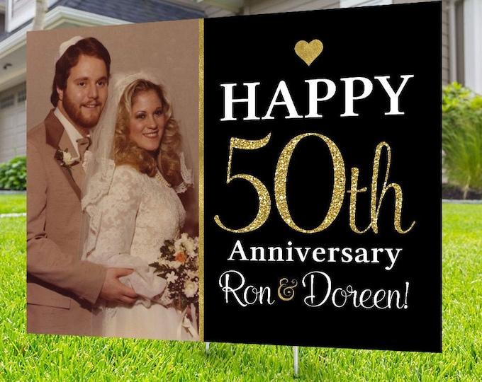 Anniversary Yard Sign, Digital file only, Honk outdoor sign, Quarantine party , Anniversary Yard Sign, Wedding Anniversary
