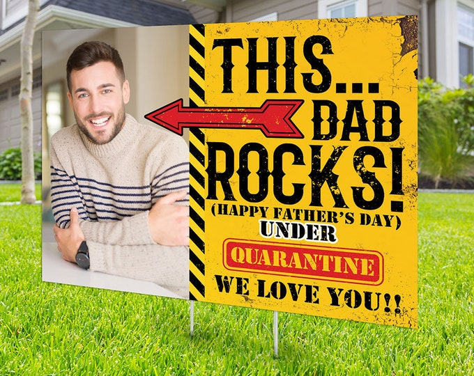 Happy Father's Day Yard Sign, Honk outdoor sign, Quarantine , Digital file only, Birthday Yard Sign, Father's Day yard sign, Mother's Day