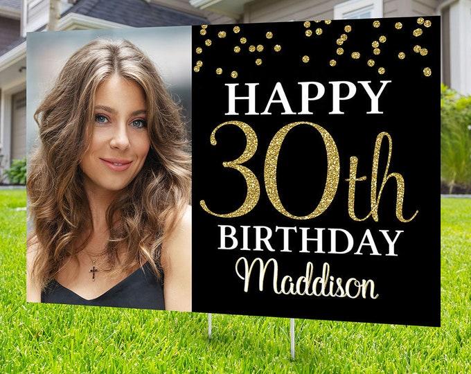 Happy birthday Yard Sign design, Digital file only, Honk outdoor sign, Quarantine Birthday , Birthday Yard Sign, Happy Birthday Sign