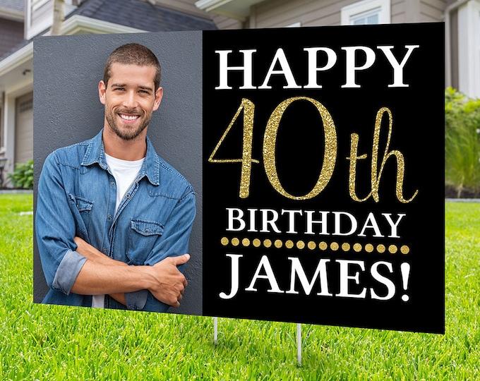 Happy birthday Yard Sign, Digital file only, Honk outdoor sign, Quarantine Birthday ,  Birthday Yard Sign, Happy Birthday Sign, Yard sign
