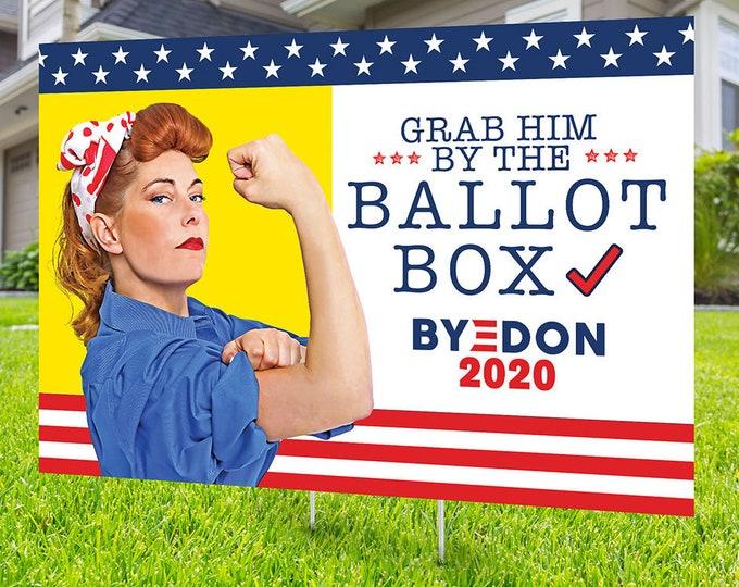Political Campaign Yard Sign design, Digital file only, Kamala Harris, democrat, political sign, 2020 president, political lawn sign