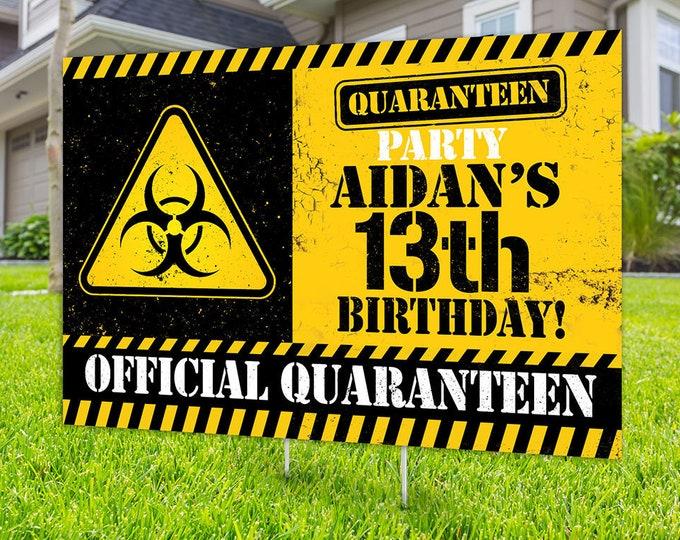 Happy birthday Yard Sign design, Digital file only, Honk sign, Quarantine Birthday , Birthday Yard Sign, Happy Birthday Sign, Yard sign