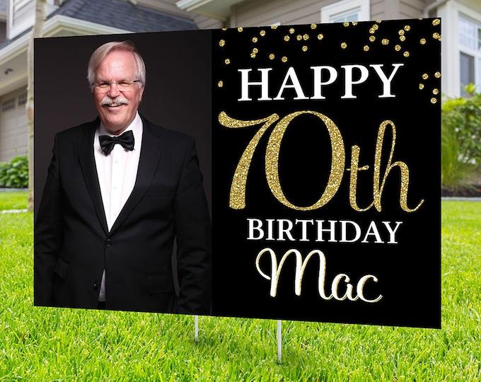 Happy birthday Yard Sign design, Digital file only, Honk outdoor sign, Quarantine Birthday , Birthday Yard Sign, Happy Birthday Sign,