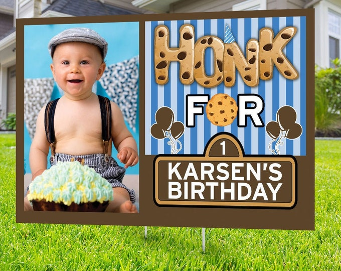 Drive by birthday parade, Digital file only, yard sign, social distancing drive-by birthday party, car birthday parade quarantine party,