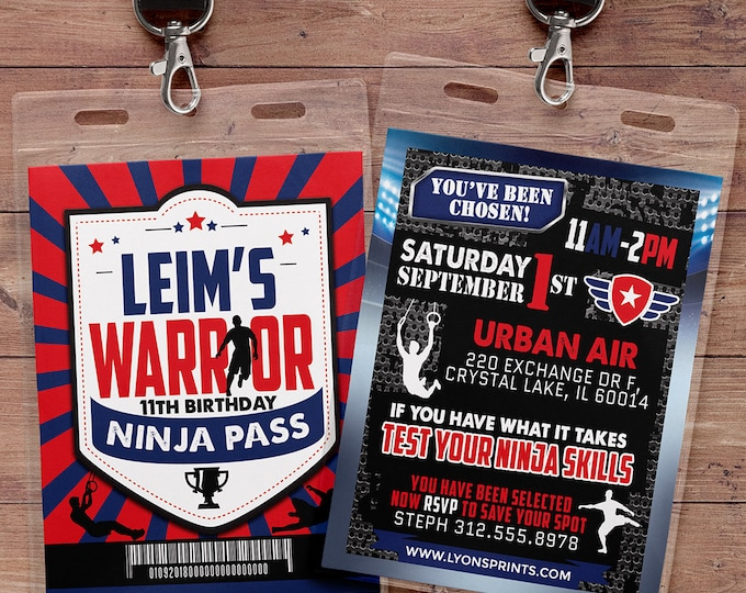 Army Invitation, warrior invitation, Ninja invite, paintball invitation, Army Birthday Invitation, Military Party, Boot Camp,Obstacle course