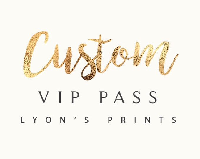 Custom Invitation Design, VIP pass, ticket Invitation _ Printable/Digital Invitation_baby shower_birthday party_wedding_ Birthday invite,