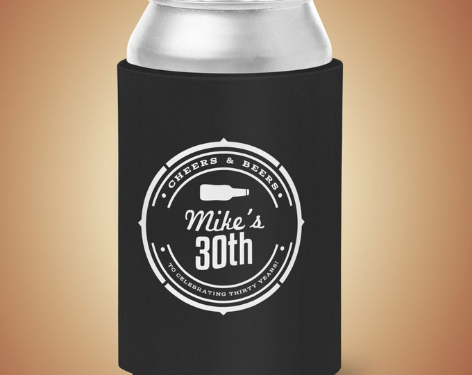 Digital logo file, Cheers and Beers beverage cooler, beer, 21st, 30th, 40th, 50th, 60th, 70th, adult birthday, party favor