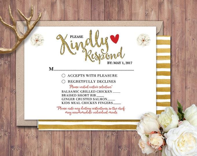 Happily ever after RSVP card, BOHO wedding shower, couples shower, arrows, Tribal, wedding, bridal shower printable