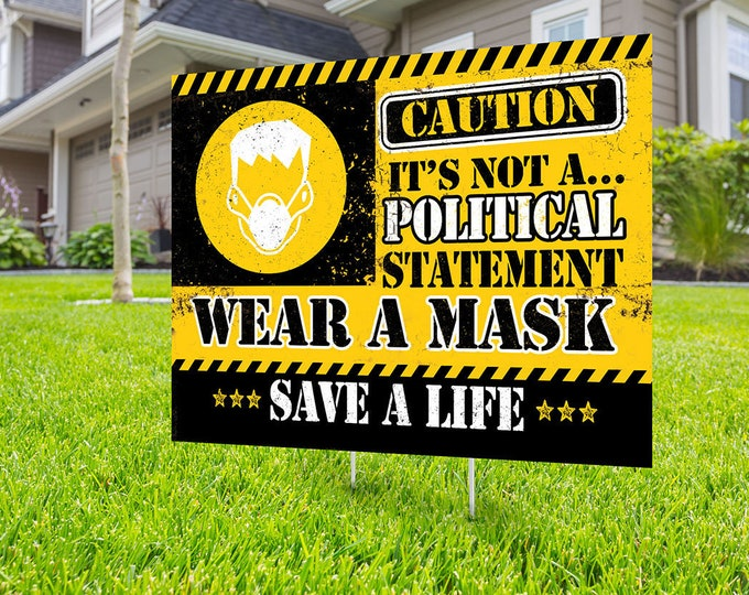 Wear a mask yard sign design, Digital file only, Kindness is everything, political sign, Choose kindness, Be kind, stop the spread sign