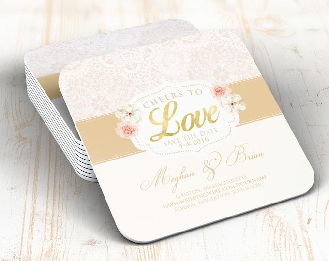 Digital logo file, Save the date,BOHO, Rustic wedding,  party favors, wedding favor, keepsake, party decor, wedding, invitation