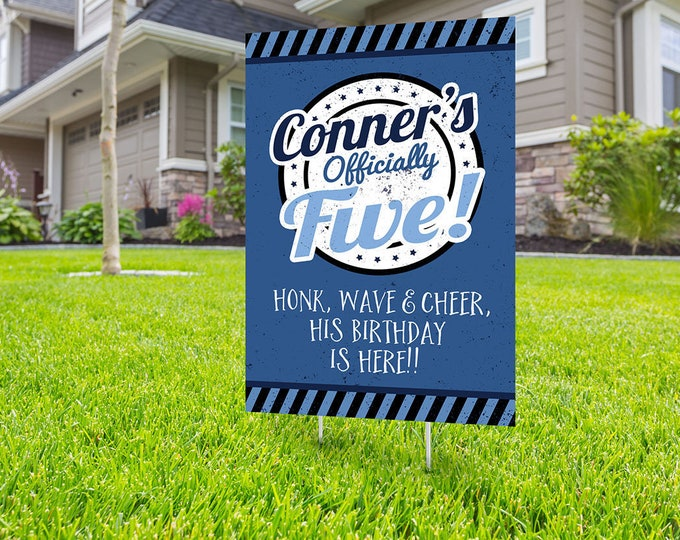 ANY AGE, Drive by birthday parade, Digital file only, yard sign, drive-by birthday party, car birthday parade quarantine party, birthday