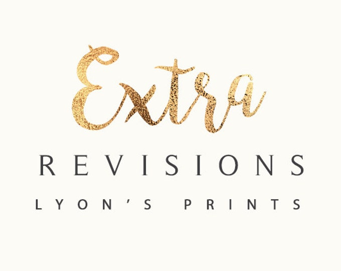 ADD ON_ Extra Revisions 3 pack