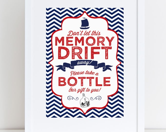 nautical baby shower signs, navy blue, white and red, printable, INSTANT DOWNLOAD, baby shower, party decor, shower games