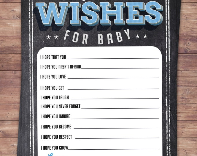 Baby is brewing, Coed baby shower, baby wishes card- Beer baby shower- couples baby shower BBQ, retro, beer tasting