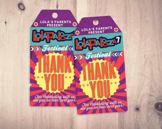 """Favor tags """"ROCKSTAR"""" (Printable File Only) , baby shower, party decorations, party supplies, rockstar party, rockstar sign, Lollapalooza"""