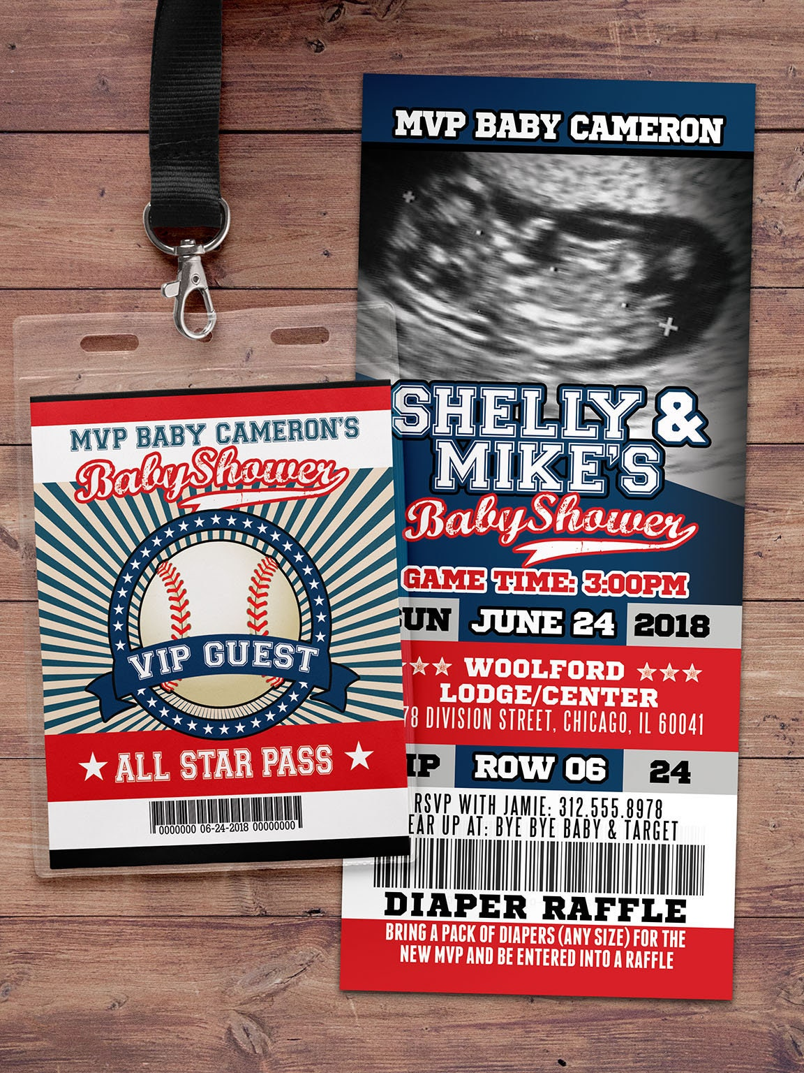 Baseball baby shower Invitation, All Star Little Slugger Baby Shower ...