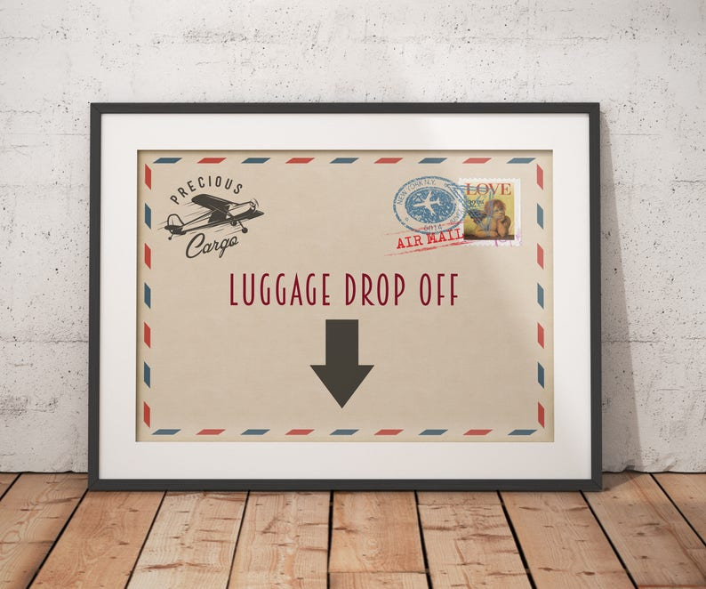 Precious Cargo table signs  Baby Shower sign Baby Shower image 0