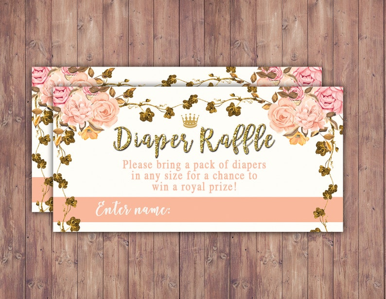 Princess Baby Shower Princess Carriage Baby Shower Pink Gold image 0