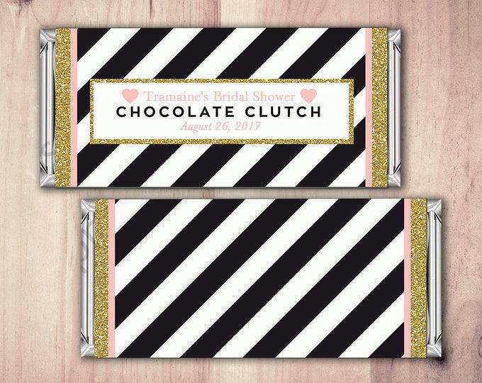 Digital file, Birthday Candy Bar Wrapper, Birthday Chocolate Bar Birthday Candy Wrappers - shabby Chic- 40th, 21st, 30th, 50th, 60th, 70th,