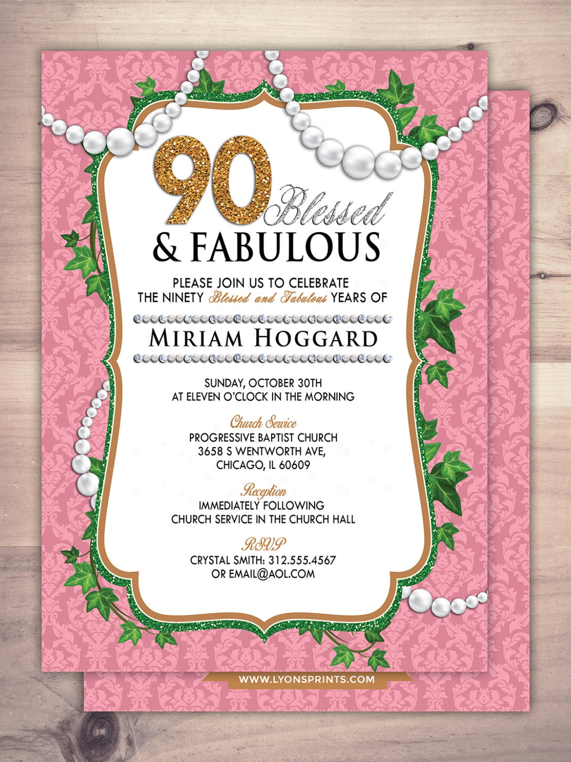 30th, 40th, 50th, 60th, 70th, 80th, 90th Surprise Birthday Party ...