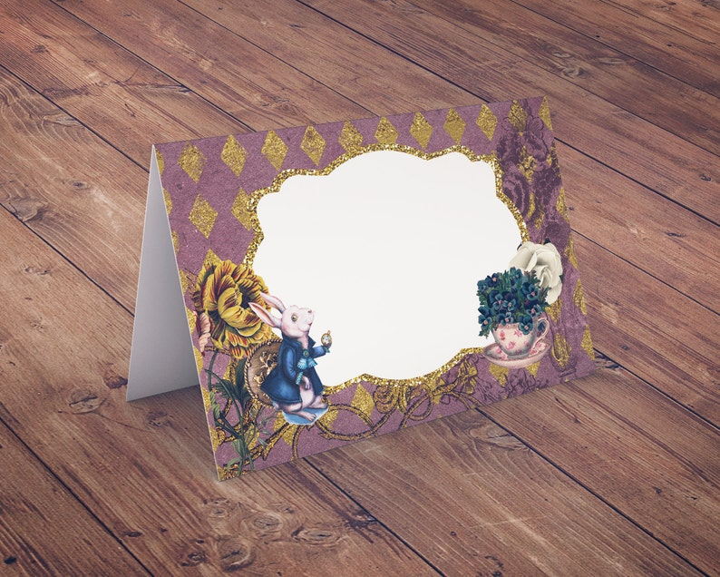 Food tent Mad Hatter Tea Party Alice in Wonderland mad image 0