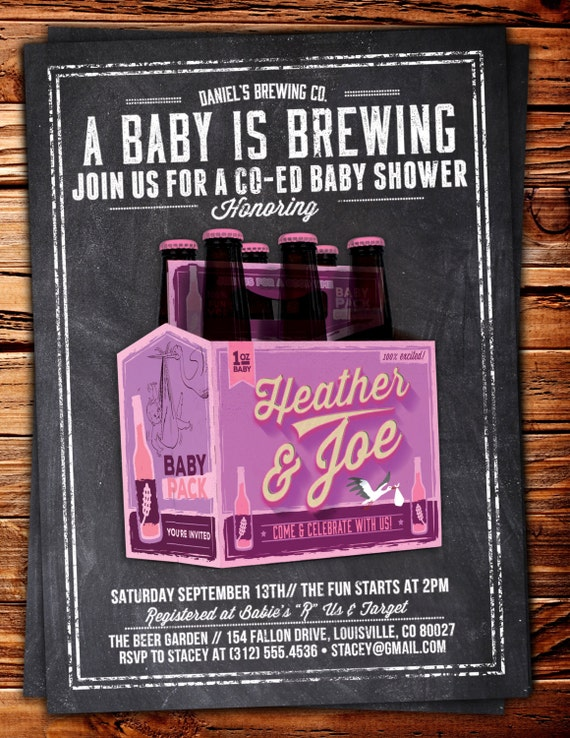 luxury co ed baby shower invitation for 55 coed baby shower invitations free